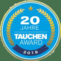 Abstimmung zum Tauchen Award 2018