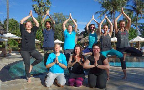 """Gruppe """"Tauchen und Yoga"""""""