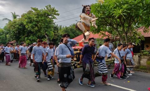 Nyepi – Tag der Stille – balinesisches Neujahr