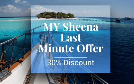 MY Sheena Last Minute Special April