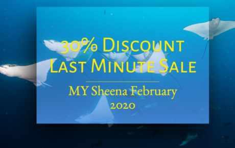 MY Sheena Last Minute Special Februar 2020