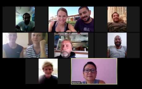 Staff Meeting in Corona Zeiten