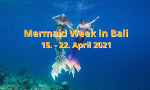 Mermaid Week auf Bali