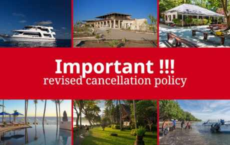 Temporary change of the terms and conditions for cancellations