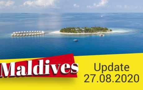 Malediven Update 27.08.2020