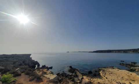 Good morning from Cape Greco