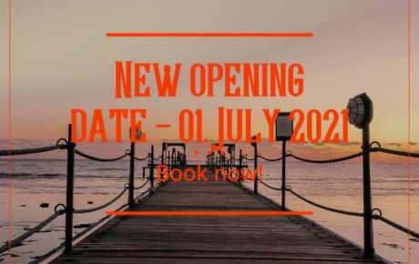Wiedereröffnung am 01. Juli 2021