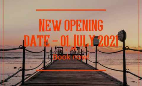 Reopening on 01 July 2021