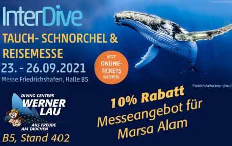 InterDive Friedrichshafen 23.09. – 26.09.2021